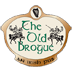 The Old Brogue & Katie's Coffee House Sticky Logo