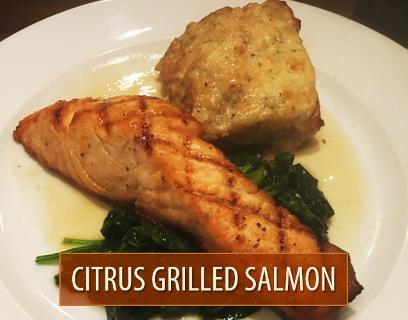 Citrus Grilled Salmon